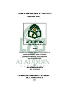 Konsep Al Din Dalam Surah Al Kafirun Ayat 6 Kajian Tafsir