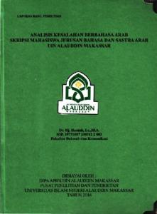 Contoh Proposal Skripsi Bahasa Arab Kualitatif Pdf Kumpulan Berbagai Skripsi